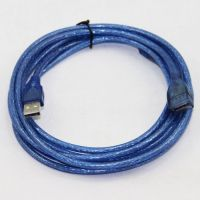 USB EXTENSION MALE TO FEMALE 2.0 3M (CRYSTAL)