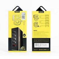 USB hub charger Remax 5 port 5V 6A RUU1