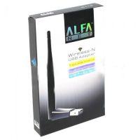 ALFA WIFI USB W113 3DBI MT 7601 ANTEENA ADOPTER
