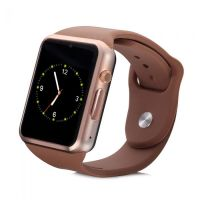 SMART WATCH GOLDEN W08 WITH GSM SLOT AND BLUETOOTH CONNECTIVITY FOR IOS AND ANDROID SMART PHONES