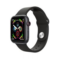 LD5 Smart Watch Heart Rate Monitor Fitness Tracker BT Make Calls -Black