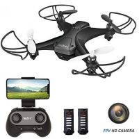 Tech Rc Mini Drone With Camera, WiFi FPV Quadcopter Drone