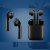 Black APPLE AIRPODS GENERATION 2 (HIGH COPY)
