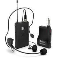 FIFINE K037B WIRELESS SYSTEM WITH LAPEL MIC AND HEADSET FOR SPEAKER, CAMERA, ANDROID AND IPHONE