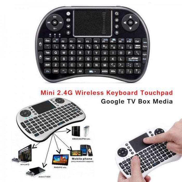 MINI TOUCH PAD RF500 KEYBOARD MOUSE BLUETOOTH FOR SMART PHONE , MOBILE, ANDROID