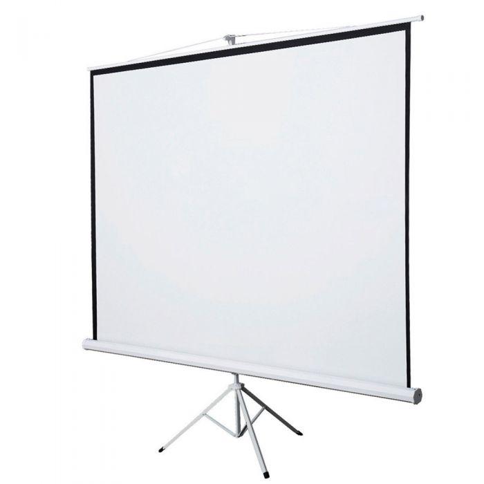 Projector Screen 120 inch Tripod Portable 6x8 Feet 4:3MW Speed-X
