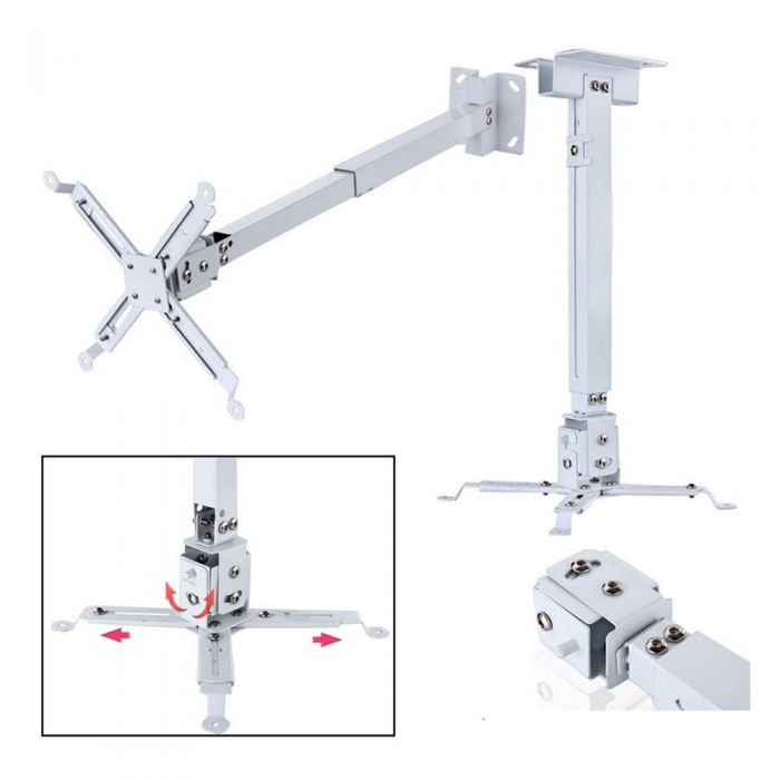 PROJECTOR CEILING MOUNT (SQUARE TYPE) 2 FEET 0.6M (IRON)