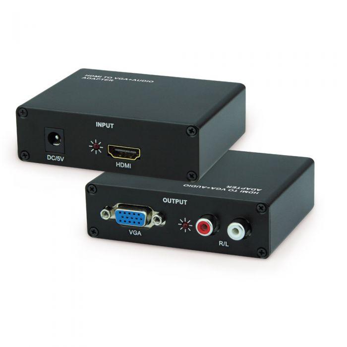 Hdmi to Vga + sound conversion box