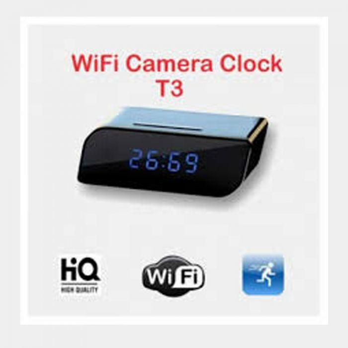 Hidden WiFi Table Clock T3