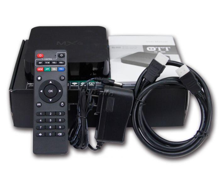 SMART BOX MXQ 4K QUAD CORE 1G+8G