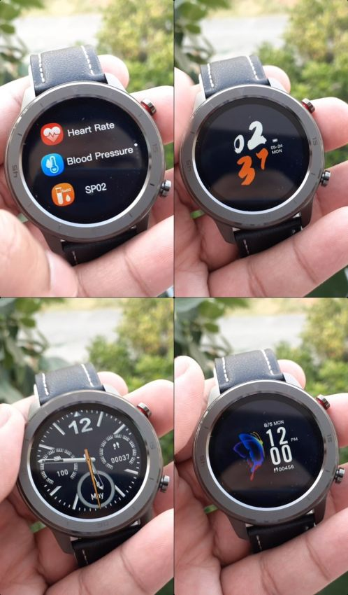 DTS 750 Smart Watch IP68 Waterproof Reloj Hombre Mode With PPG Blood Pressure Heart Rate Sports Fitness