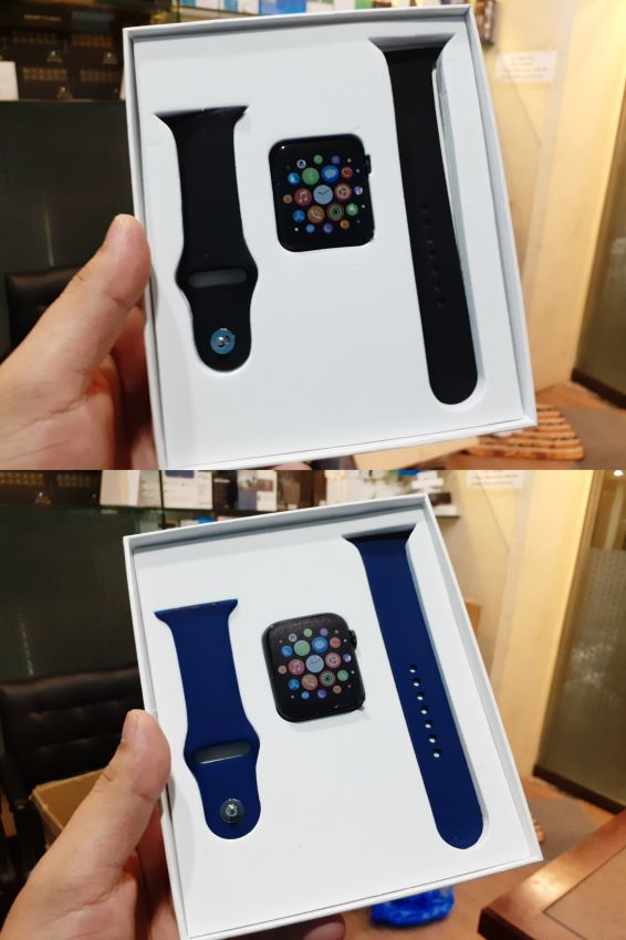 Apple Watch T500 With Heart Rate and Blood Pressure Monitor pado meter and much more